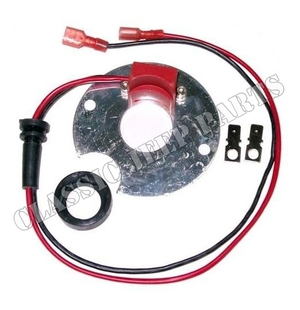 Elektroniskt kit för fördelare 6 och 12 volt