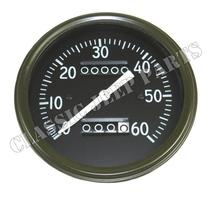 Hastighetsmätare miles lång visare tidig AC WILLYS MB