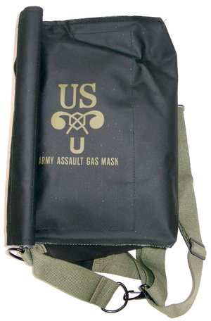 Army assault gas mask bag M7