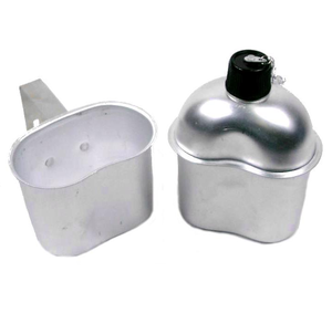 Canteen bottle with cup M1910 inox