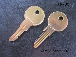 Universal key H700
