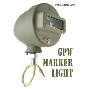 Marker light assembly right GPW F-script