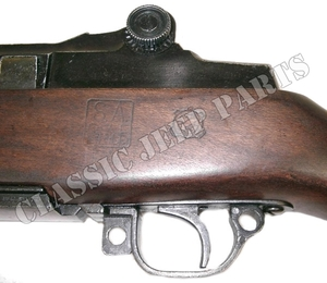 M1 Garand Aged patina with ordnance and  manufacturer stamp