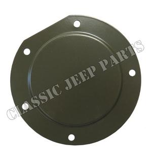 Master brake cylinder inspection cover