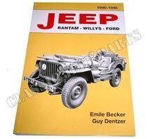 JEEP BANTAM-WILLYS-FORD 1940-1945 Emile Becker 470 sidor
