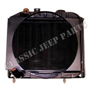 Radiator WILLYS MB 3 core