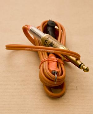 LS Orange Silicone Clipcord