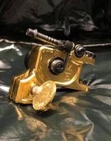 Dan Kubin Sidewinder V3R - Raw Polished Brass