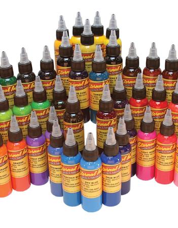 Eternal Ink 1oz/30ml Silver Set 50 Colours