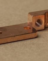 Front Hinged Tube Wise - Copper