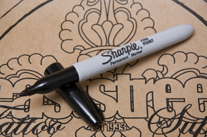 Sharpie Pen Black