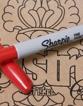 Sharpie Pen Red