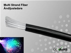 Fibertråd Ändljus Multistrand 100x0,75