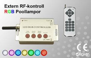RF-Kontroller för Poollampor RGB
