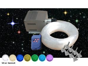 Stjärnhimmelpaket 5W Dimbar Ledprojektor 8kvm