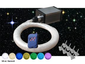 Stjärnhimmelpaket 3W Dimbar Ledprojektor 8kvm