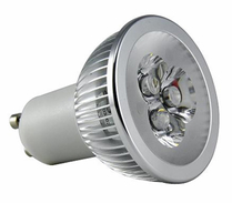 LED Spotlight 3x2W GU10 Varmvit
