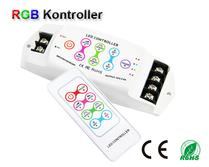 RGB kontroller 12-24VDC 3x6A