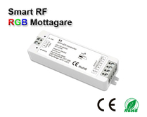 Wifi 2,4GHz RGB kontroller/mottagare 12-24VDC 3x4A