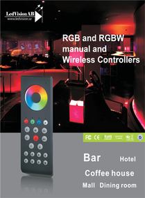 RF EASY WIRELESS RGB