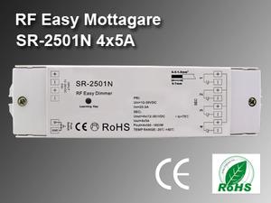 RF Easy Mottagare SR-2501N 12-36VDC 4x5A
