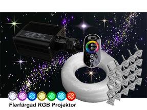 Stjärnhimmelpaket 16W RGB Touchpad 8kvm