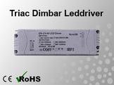 Triac Dimbar Leddriver/Nätdel 230VAC/12VDC 60W