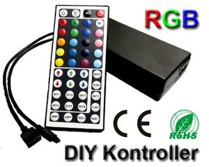 LED/RGB-kontroller DIY 230VAC/12VDC Fjärrkontroll