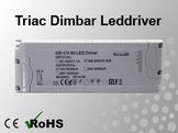 Triac Dimbar Leddriver/Nätdel 230VAC/12VDC 80W