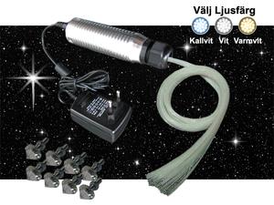 Stjärnhimmelpaket 3W Ledprojektor 3,5kvm