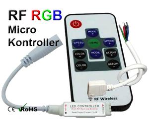 RGB Microkontroller RF Fjärrkontroll