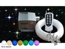 Stjärnhimmelpaket 5W DMX Dimbar Ledprojektor 5kvm