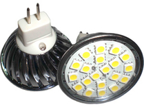 LED Spotlight SMD5050 GU5,3 Varmvit
