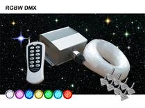 Stjärnhimmelpaket 12W DMX RGBW  Twinkle 5kvm