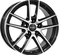 """16"""" ANZIO SPLIT - Gloss Black / Polished 6,5x16 - ET38"""