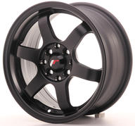 "15"" JAPAN RACING JR3 MATT BLACK"