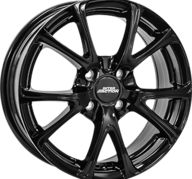 "15"" INTER ACTION PULSAR - Glossy Black 6x15 - ET25"