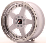 "16"" JAPAN RACING JR6 WHITE"