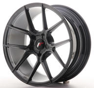 "18"" JAPAN RACING JR30 HYPER BLACK"