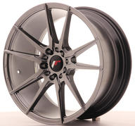"18"" JAPAN RACING JR21 HYPER BLACK"