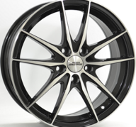 "17"" INTER ACTION ZODIAC - Gloss Black / Polished 7x17 - ET42"
