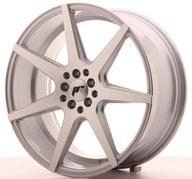 "19"" JAPAN RACING JR20 SILVER MACHINED"