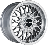 """15"""" RONAL LS - Silver / Polished 7,5x15 - ET25"""