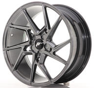 "20"" JAPAN RACING JR33 HYPER BLACK"