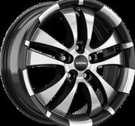"16"" RONAL R59 - Gloss Black / Polished 7x16 - ET40"
