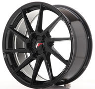 "19"" JAPAN RACING JR36 GLOSSY BLACK"
