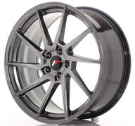 "20"" JAPAN RACING JR36 HYPER BLACK"