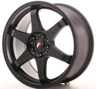 "18"" JAPAN RACING JR3 - Matt Black"