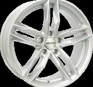 """17"""" MONACO RR8M - Silver 7,5x17 - ET40"""