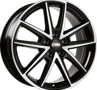 "17"" CMS C30 - Gloss Black / Polished 7x17 - ET40"